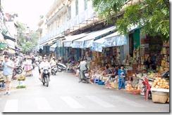 Une rue d'hanoï