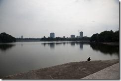 Lac du parc Lenine