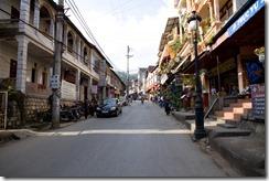 Le quartier touristique de Sapa