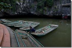 Petite balade en bateau dans la grotte