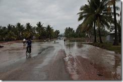 0008 - Route inondée, Route 33, Xa Xia vers Kampot