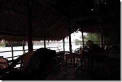 0009 - Vue rivière, Kampot bungalow river, Kampot