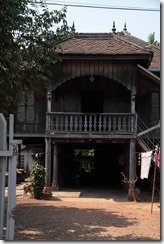 0133 - Maison colonialle, environs Battambang
