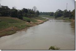 0139 - Vu sur la rivière, environs Battambang