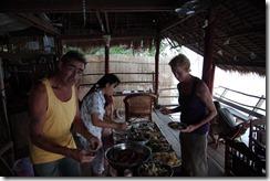0238 - Fête du nouvel an Chinois, Kampot Bungalow River, Kampot