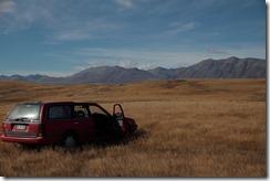 0433 - C'est désert, Geraldine vers Mt Cook