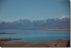 0437 - Dans les environs du Lac Tekapo, Geraldine vers Mt Cook