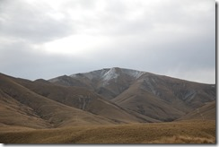 0463 - Mont argentique, Danseys Pass, Mt Cook vers Ranfurly