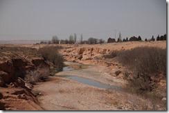 0061 - Un Oued à sec, N17, Oujda vers Figuig