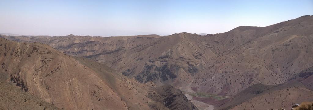 0447 - Panorama, Piste partant de Alendoum vers le nord, Boumalne Dades-10 images-small10