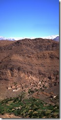 0545 - Panorama2, Piste Taliouine vers Taourirt, Taliouine-4 images