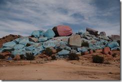 0559 - Rochers bleus, Environs Tafraoute, Tafraoute