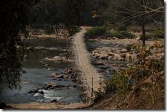 0447 - Xepon vers Salavan, Pont en bambou géant